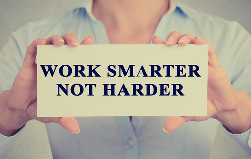 Solo-Tasking, Work smarter not harder
