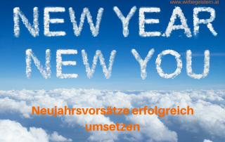 Neujahrsvorsätze erfolgreich umsetzen